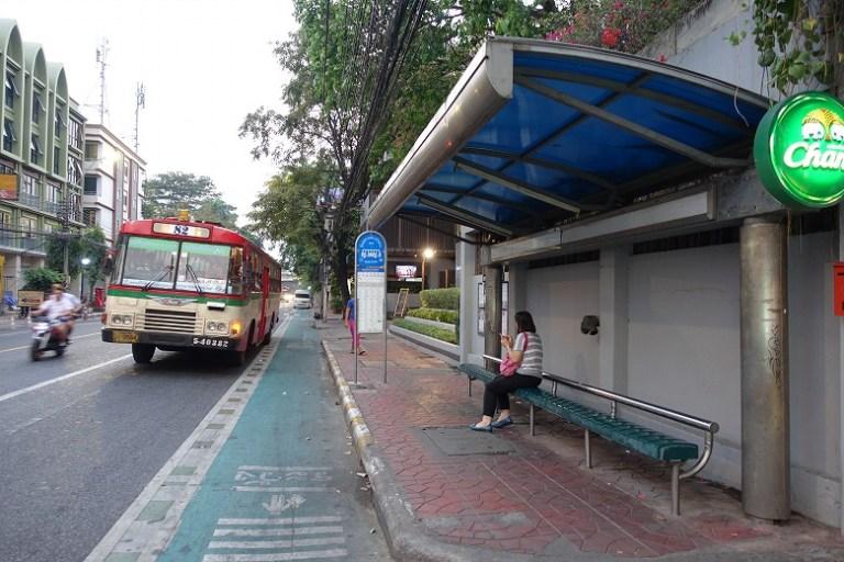 カオサンロード S1バス停留所